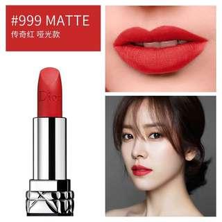 🚚 Dior Lipstick Matte Rouge #999