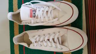 CONVERSE  WHITE FOR MEN