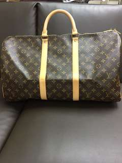LV speedy 50 travel bag