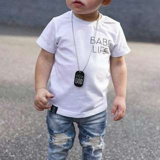 🚚 Babe Life Kids Design Apparel Clothing Tshirt Shirt Tee