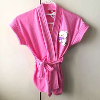 Babies' Pink Bathrobe (0-9 mos)