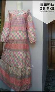 Gamis jumbo batik