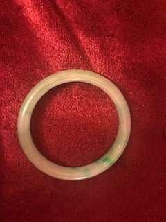 玉手鐲內徑5.5cmx1cm-有裂痕