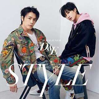SUPER JUNIOR D&E Japan Album STYLE