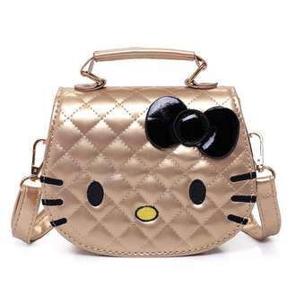 Hello Kitty Bag (Gold)
