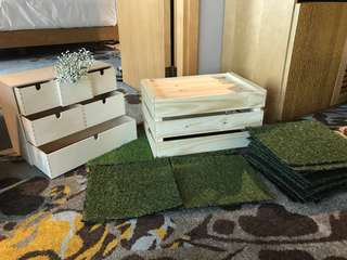 Crates for event rental