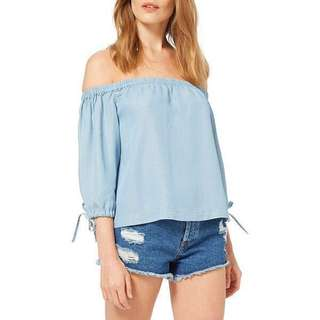 ⬇️Miss Selfridge Off Shoulder three quarter sleeves top #july50