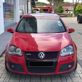 Volkswagen GOLF GT EARLY JULY PROMOTION