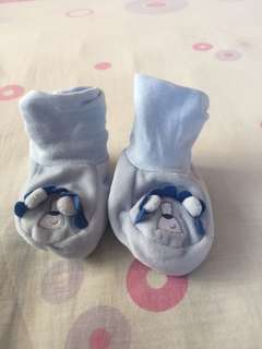 Mothercare blue bear socktops
