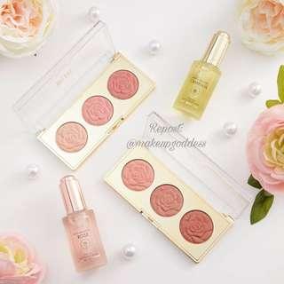 🌟INSTOCK🌟Milani Rose Blush Trio Palette-Flower in Love