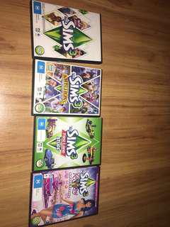 Sims assorted