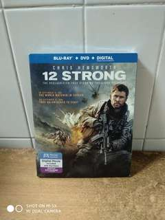 (Reserved) 12 Strong - Blu Ray & DVD for $25 - US import (original) - Brand New War Movie at Fantastic low price.