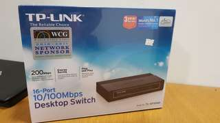 TP-LINK Desktop Switch 16 Port