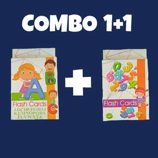 COMBO SET FLASH CARD ABC & NUMBER