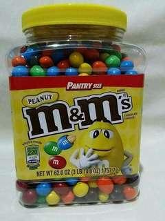 PRE-ORDER M&M's chocolate plain & peanut