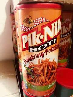 PRE-ORDER PIKNIK HOT AND SPICY