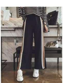 Plus Size Long Wide Pants
