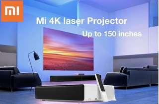 $2299 Laser TV mi short throw projector Built up your home cinema 1 year warranty