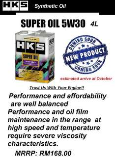 HKS W5/30 High performance engine oil