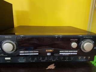 Blk Amplifier and speaker