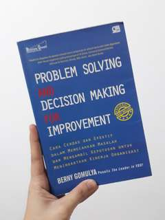 Buku Problem Solving and Decision Making for Improvement