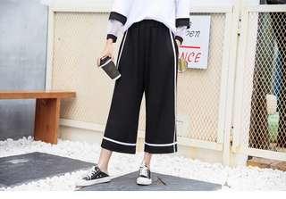Plus Size Culottes Pants