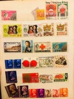 香港郵票 英女皇