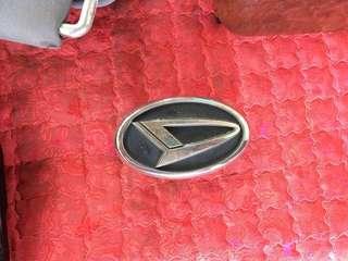 Emblem Daihatsu Logo D Silver