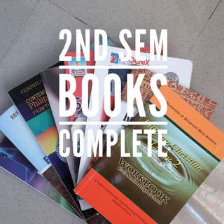 INCOMING GRADE 11 TEXT BOOKS FOR 1st semester