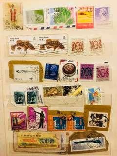 外國郵票 香港郵票