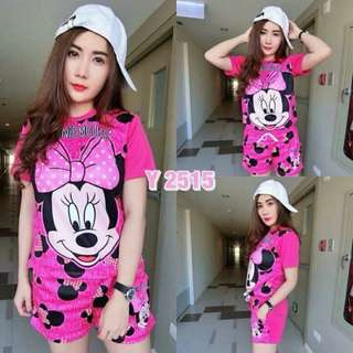 MICKEY MOUSE LADIES TERNO Free size