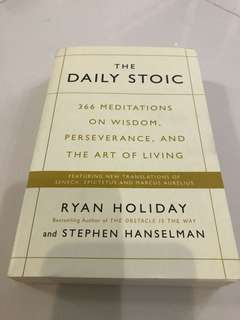 The Daily Stoic by Ryan Holiday and Stephen Hanselman