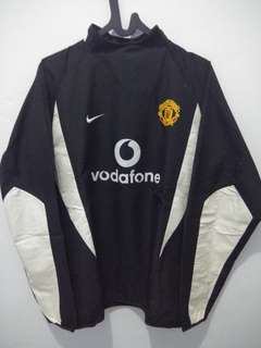 jaket nike official MU original tebal