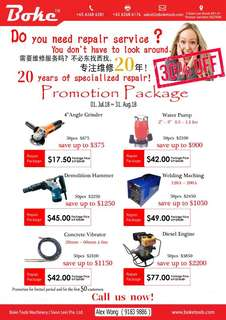Repair Service Promotion Package