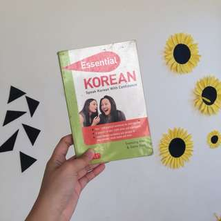 "Essentials ""speak korean"""