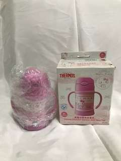 Thermos Hello Kitty Straw Cup with Handle