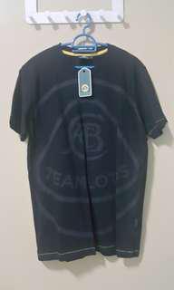 Team Lotus Large Logo T-shirt Black Size M