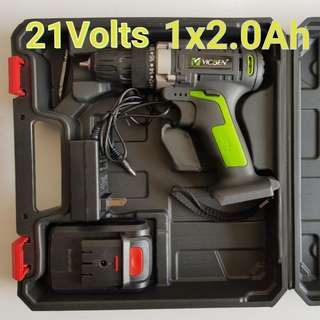 21Volts Double Speed Cordless Drill