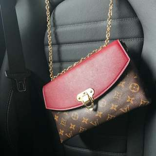 Louis Vuitton Saint Placide Red Color