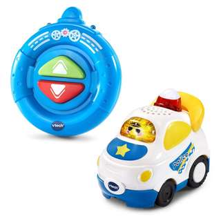 In stock VTech Go Smart Wheels RC Police Car