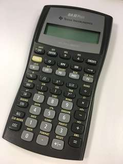 BA II PLUS CFA Financial Calculator