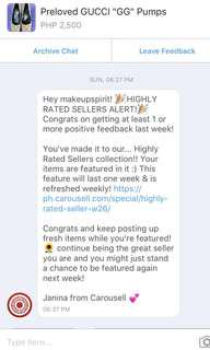 Highly rated seller for the Nth time! Thank you!