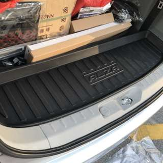 Rear Boot Tray for Perodua Alza