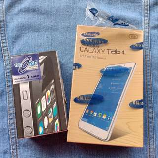 Box Iphone 4 / Samsung Galaxy Tab 4