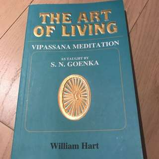 The Art of Living Vipassana Meditation Book