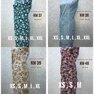 Baju Kurung English Cotton