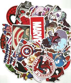 Marvel Waterproof Sticker