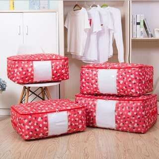 Watermelon Flower cotton quilt storage bag (RM6.50-RM12.50)