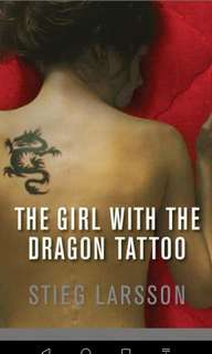 The Girl with A Dragon Tattoo by Steig Larsson