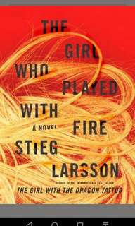 The Girl Who Played with Fire  By Steig Larsson
